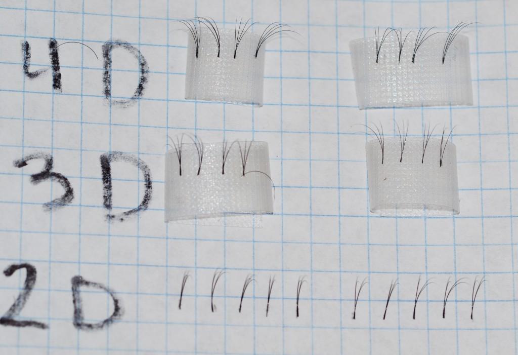 Пучки для двойного, тройного и четверного объема